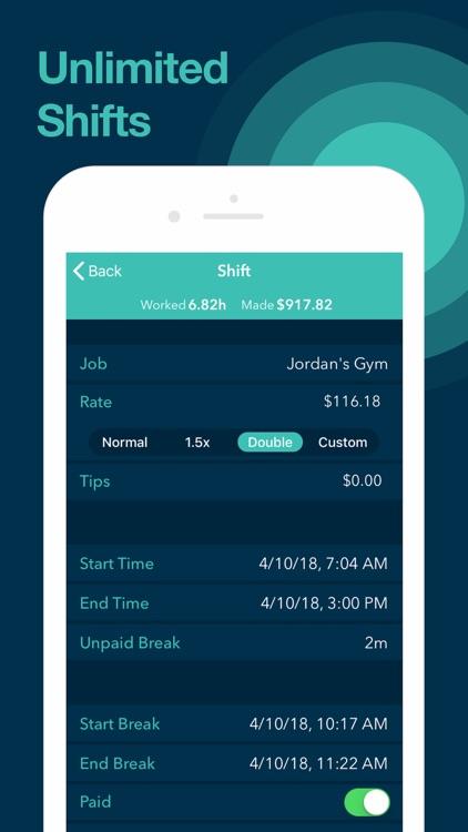 Clock In - Work Hours Tracker screenshot-3