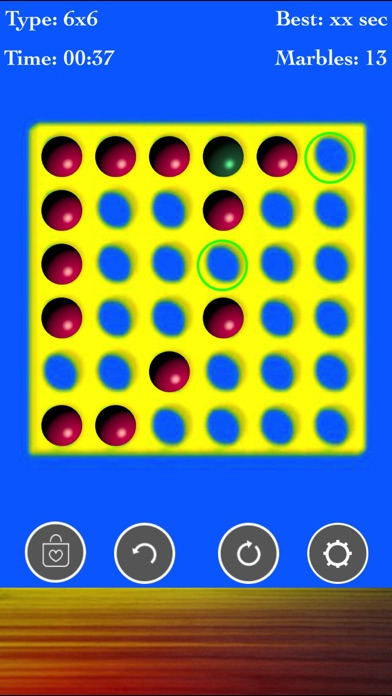 Brainvita Peg Solitaire Game screenshot 3