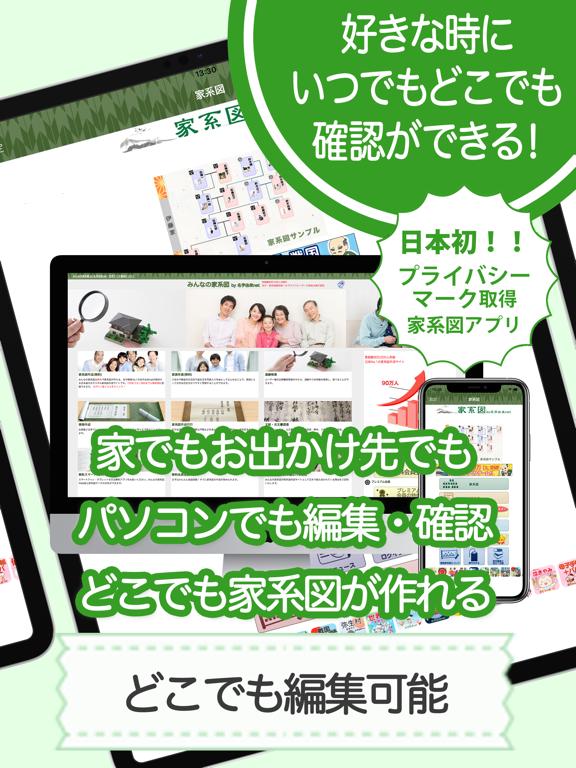 家系図 by 名字由来net 日本No.1 100万人のおすすめ画像8