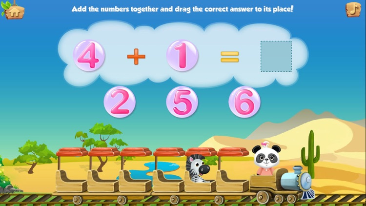 Lola's Math Train LITE screenshot-3