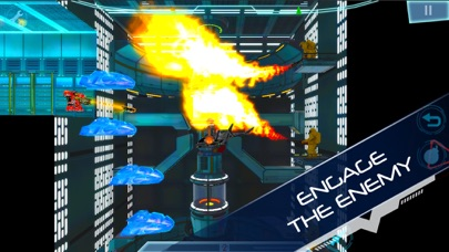 Screenshot from Explodey: Sci-Fi Side Scroller
