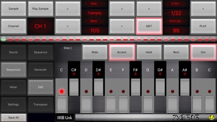 2XB303 Acid Bass Sequencer