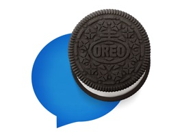 Why send another smiley when you can send OREO cookies