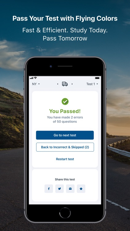 DMV Practice Test - All states screenshot-5