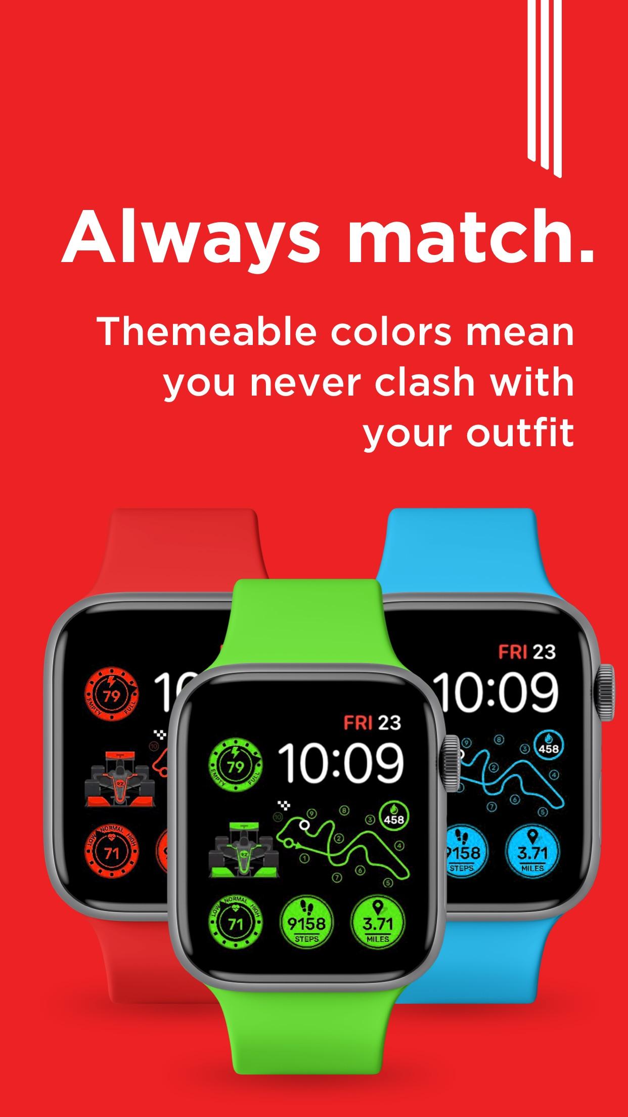 Screenshot do app Watch Faces by Facer