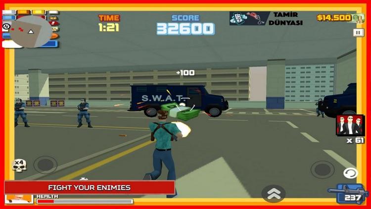 City Mafia War: Fighting Shoot
