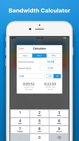 how to check download speed on iphone
