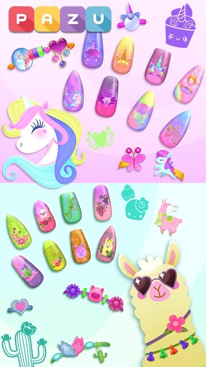 Nail Salon Games for kids screenshot-3