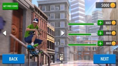 プロスケートボードレーシング: スーパードリフト!のスクリーンショット2