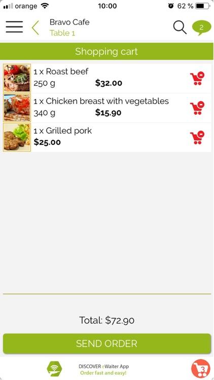 eWaiter App screenshot-3