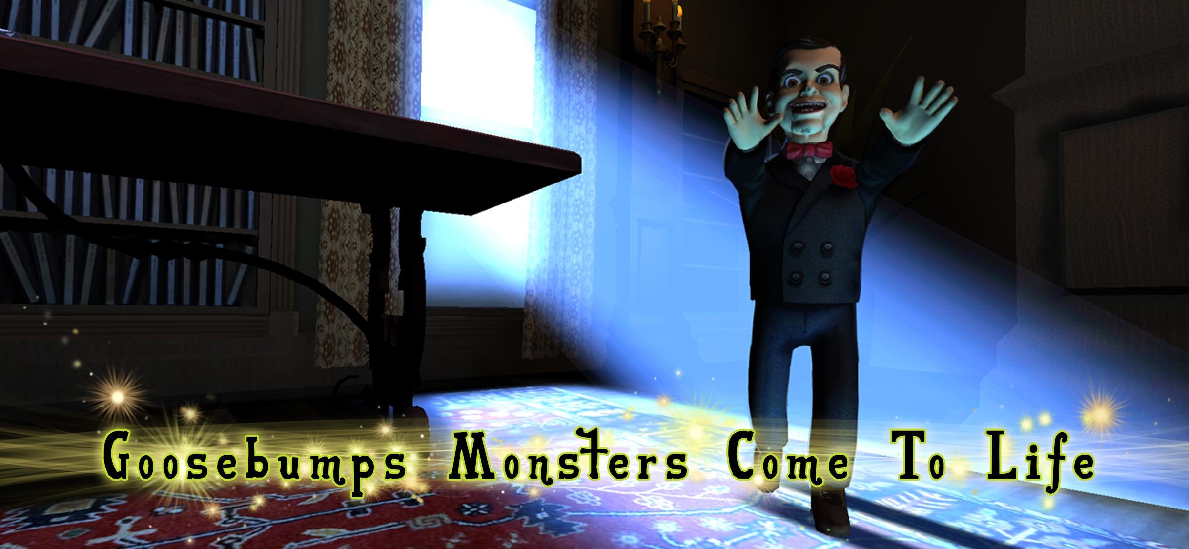 Screenshot do app Goosebumps Night of Scares