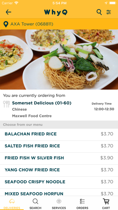 WhyQ Hawker DeliveryScreenshot of 6