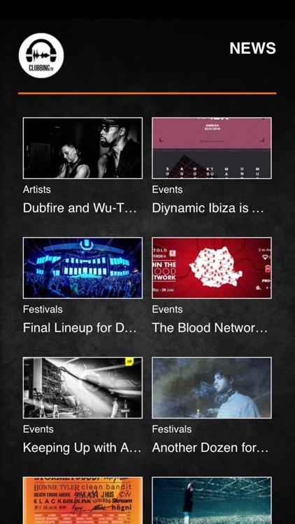 Clubbing TV screenshot-3