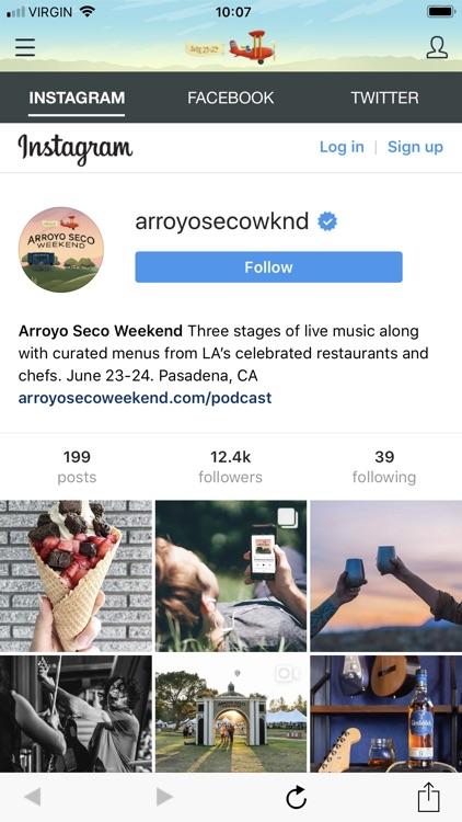 Arroyo Seco Weekend screenshot-4