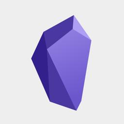 Ícone do app Obsidian - Connected Notes