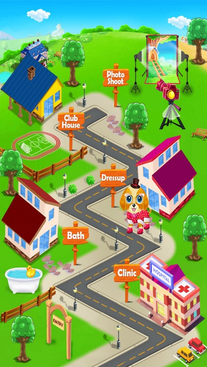 My Pet Care Salon Dress Up screenshot-3