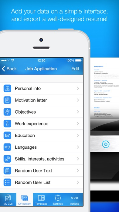 resume builder  resume creator ipa cracked for ios free