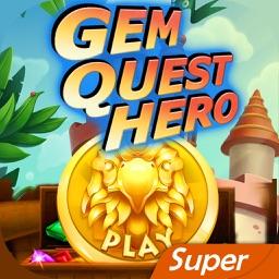 Gem Quest Super Hero of Jewel