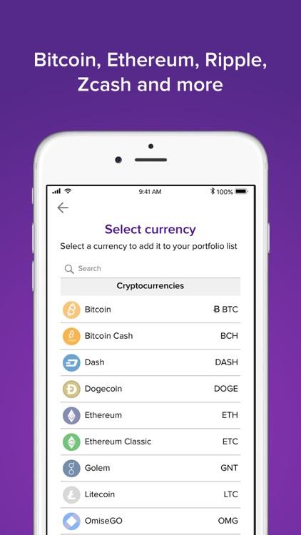 Abra: Bitcoin, Ripple, LTC