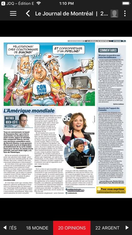Journal de Montréal – EÉdition screenshot-3