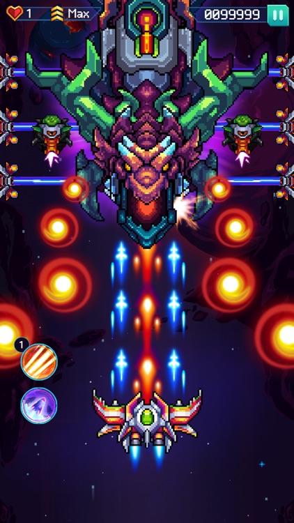 Galaxiga - Classic 80s Arcade screenshot-6