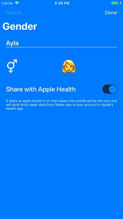 iWater - Smart Water Reminder
