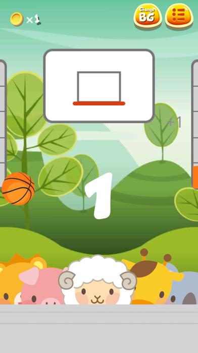 Amazing Animals Basketball Screenshot