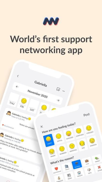 Moodwave - Support Network screenshot-8