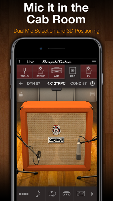Screenshot #2 pour AmpliTube Orange