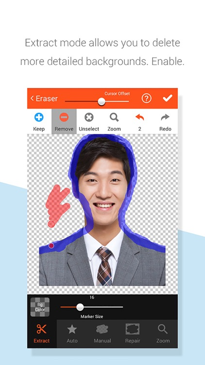 EZ Passport photo - ID photo screenshot-3