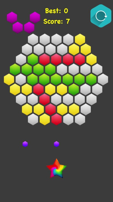 Hexagonal Merge.. screenshot 3