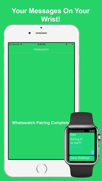 Whatswatch: Watch for WhatsApp