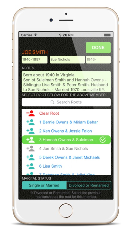 Family Tree Builder App screenshot-2