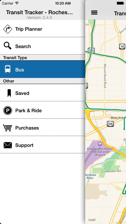 Transit Tracker - Rochester