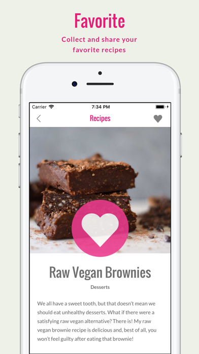Screenshot for Rawvana's Raw Recipes in India App Store