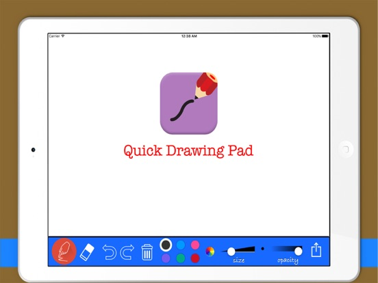 Quick Drawing Pad for Painting screenshot one
