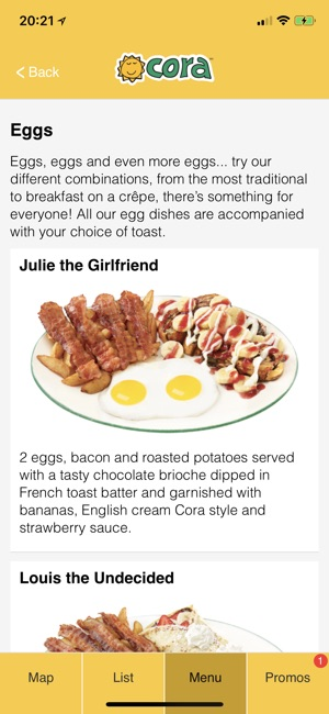 Carte Itunes Cora.Cora Restaurants On The App Store
