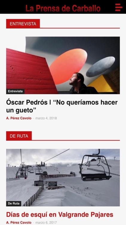 La Prensa de Carballo screenshot-3