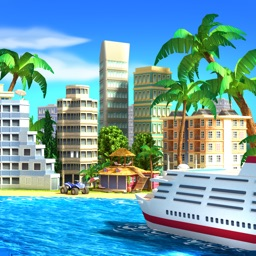 Tropic Paradise Town Build Sim