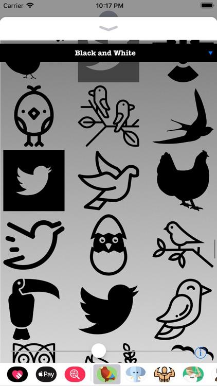 Bird Stickers HD screenshot-4