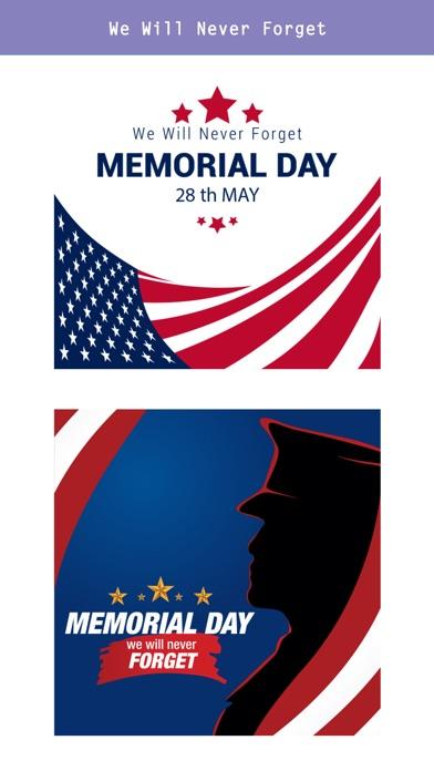 Memorial Day-Remember & Honor screenshot 3