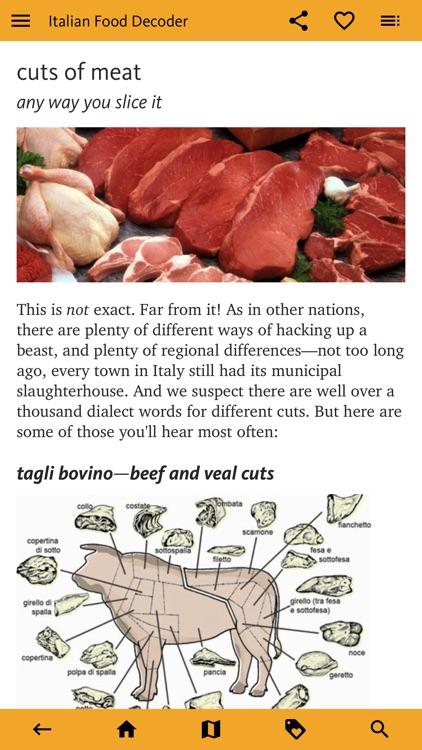 Italian Food Decoder screenshot-6