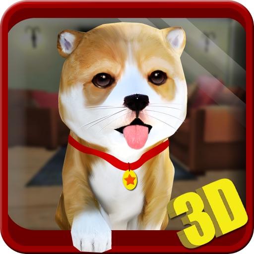 собака имитатор 3D