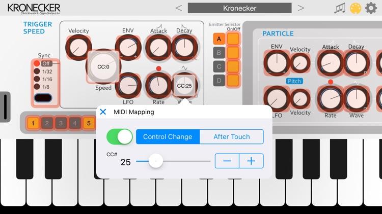 Kronecker - AUv3 Plugin Synth screenshot-5