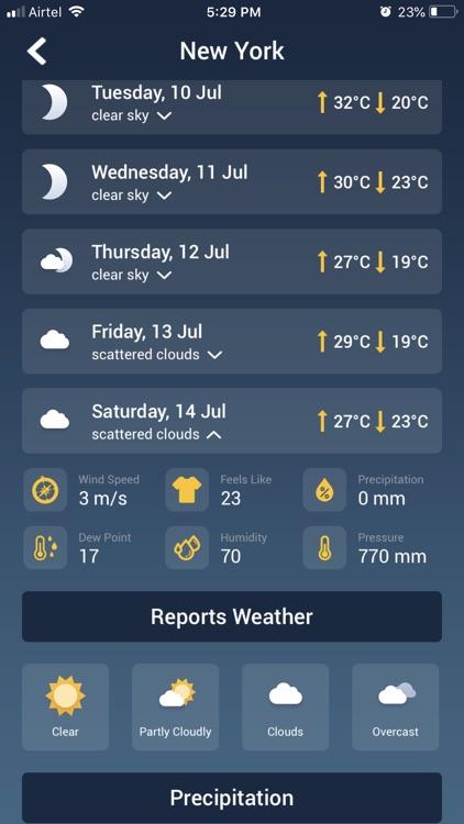 Weather Radar & Live Forecast screenshot-4