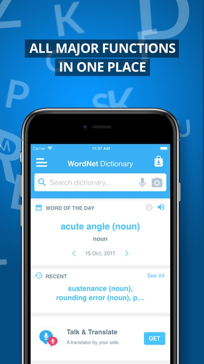 Advanced Dictionary&Thesaurus screenshot-4
