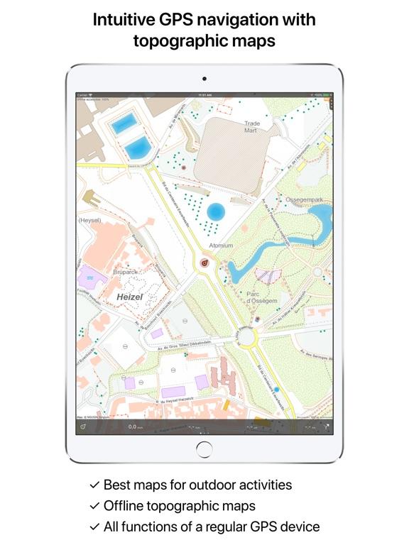 Belgium Topographic Map.Topo Gps Belgium App Price Drops