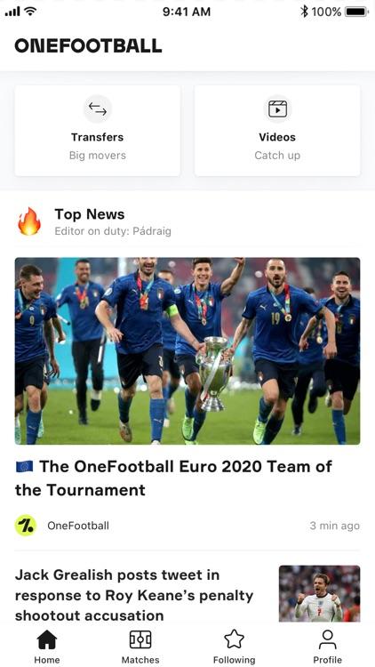 OneFootball - Soccer News screenshot-0