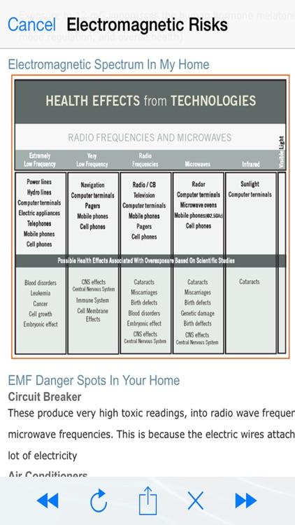 Electromagnetic Detector EMF screenshot-4