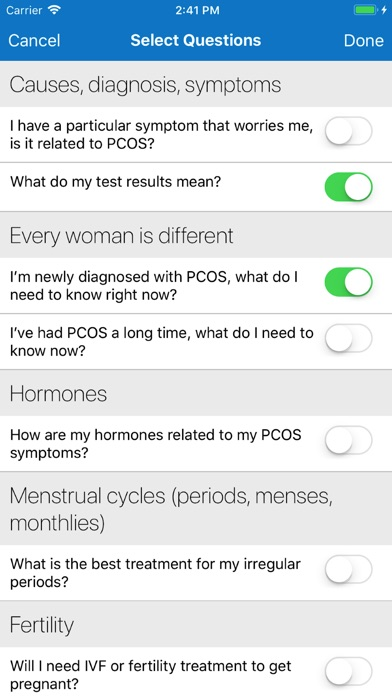 AskPCOS screenshot 6